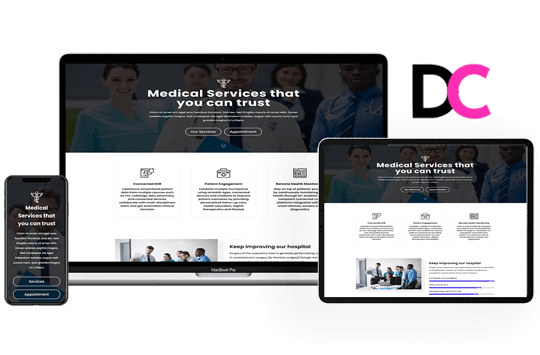 Orion – Hospital Landing Page Divi Layout
