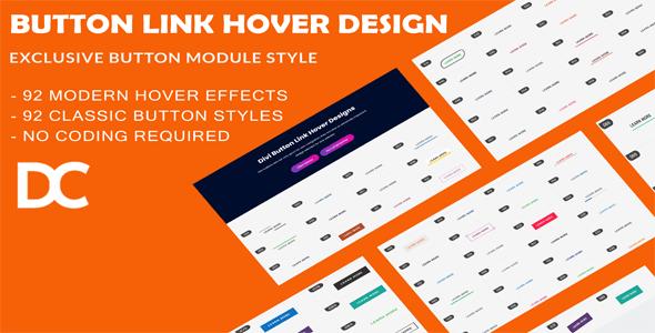Divi Button Link Hover Designs